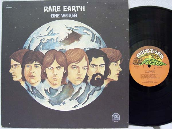 RARE EARTH - One World Vinyl