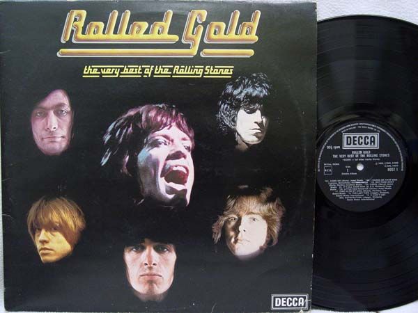 Rolling Stones - Rolled Gold Record