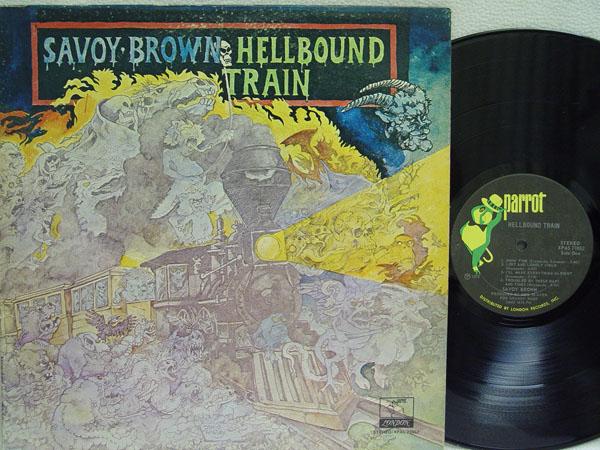 SAVOY BROWN - Hellbound Train EP