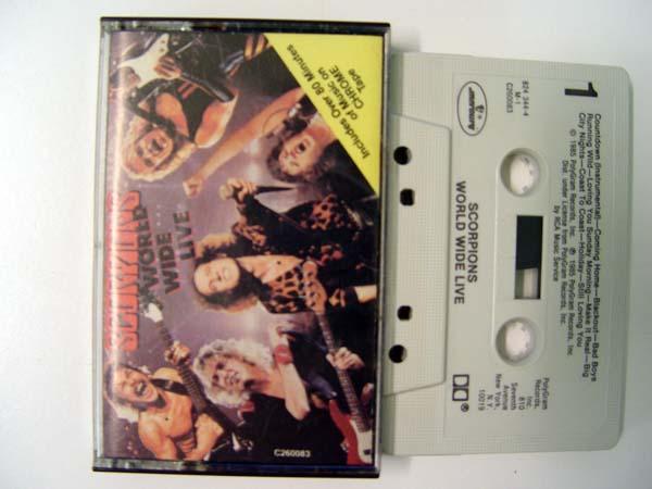 Scorpions - Worldwide Live