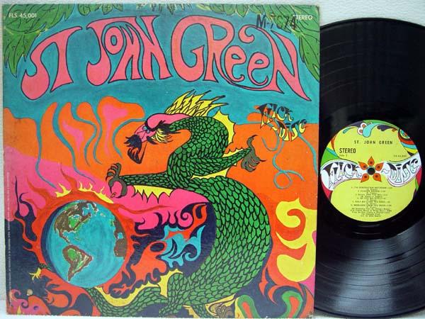 ST. JOHN GREEN - St. John Green - 33T