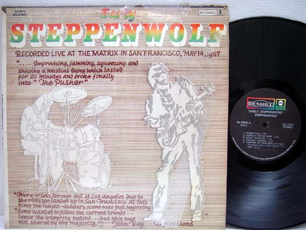 STEPPENWOLF - Early Steppenwolf - 33T