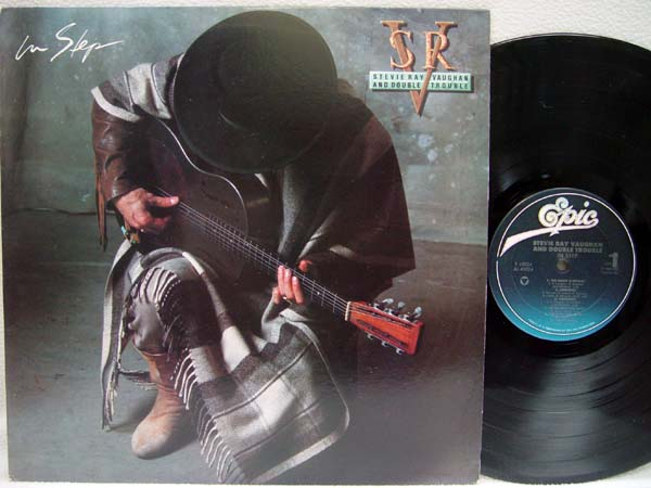 STEVIE RAY VAUGHAN & DOUBLE TROUBLE - In Step - 33T