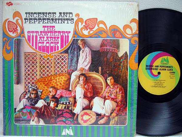 STRAWBERRY ALARM CLOCK, THE - Incense and Peppermints - 33T