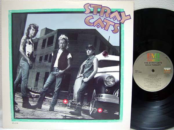 STRAY CATS - Rock Therapy - 33T