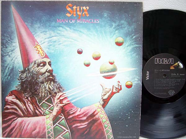 STYX - Man of Miracles - 33T