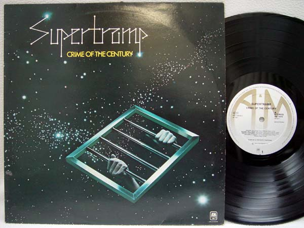 SUPERTRAMP - Crime of the Century - 33T