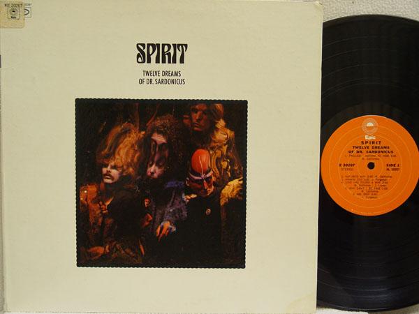 SPIRIT - Twelve Dreams of Dr. Sardonicus - 33T
