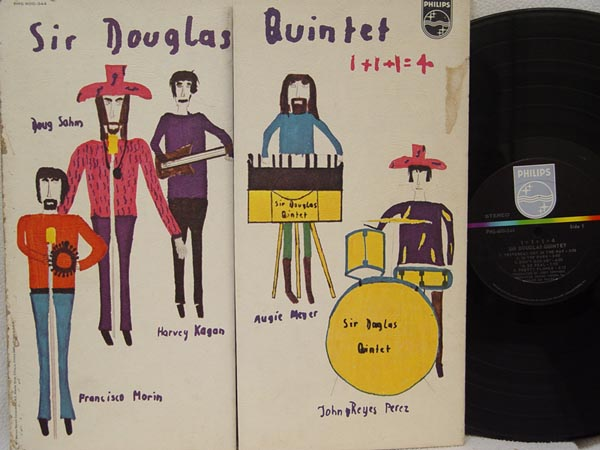 SIR DOUGLAS QUINTET - 1+1+1=4 - LP