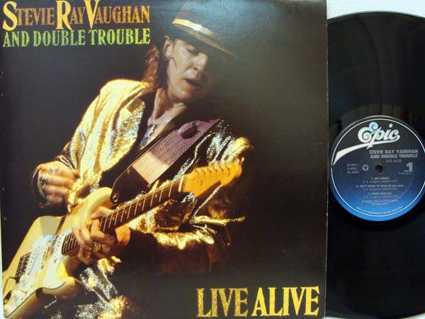 Stevie Ray Vaughan Live Alive Records Lps Vinyl And Cds