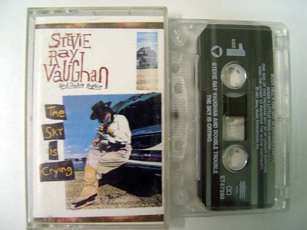 Stevie Ray Vaughan The Sky Is Crying Records Lps Vinyl