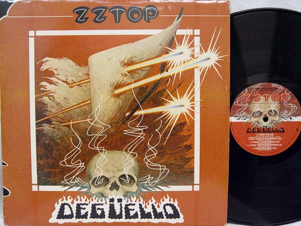 Zz Top Deguello Records Lps Vinyl And Cds Musicstack